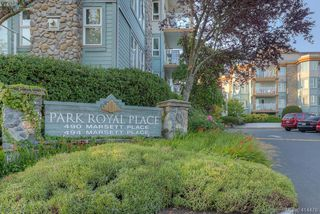 Photo 1: 309 490 Marsett Place in VICTORIA: SW Royal Oak Condo Apartment for sale (Saanich West)  : MLS®# 414478
