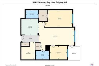Photo 33: 309 22 AUBURN BAY Link SE in Calgary: Auburn Bay Apartment for sale : MLS®# A1032657
