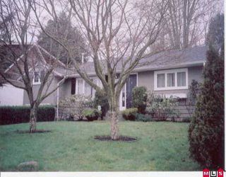 Photo 2: 1707 156A ST in White Rock: King George Corridor House for sale (South Surrey White Rock)  : MLS®# F2600161