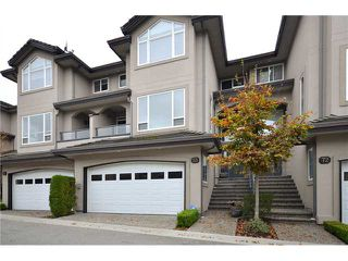 "Photo 1: 73 678 CITADEL Drive in Port Coquitlam: Citadel PQ Townhouse for sale in ""CITADEL POINT"" : MLS®# V977271"