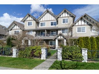 """Photo 1: 2 18181 68TH Avenue in Surrey: Cloverdale BC Townhouse for sale in """"MAGNOLIA"""" (Cloverdale)  : MLS®# F1405291"""