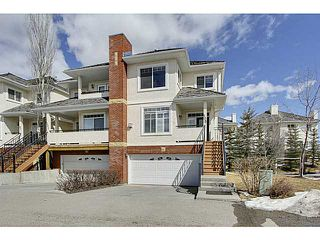 Photo 1: 105 SIERRA MORENA Landing SW in CALGARY: Richmond Hill Townhouse for sale (Calgary)  : MLS®# C3608171