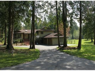 """Photo 1: 21144 20 Avenue in Langley: Campbell Valley House for sale in """"South Langley/Campbell Valley"""" : MLS®# F1409207"""