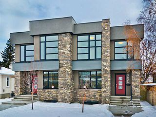 Photo 1: 3824 1 Street NW in Calgary: Highland Park Residential Attached for sale : MLS®# C3642904