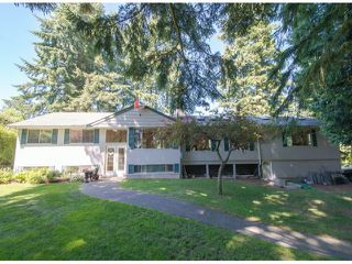 Photo 1: 13885 18TH Avenue in Surrey: Sunnyside Park Surrey House for sale (South Surrey White Rock)  : MLS®# F1431118