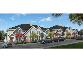 Main Photo: 3371 CARMELO AVENUE in : Burke Mountain Townhouse for sale : MLS®# V1064274