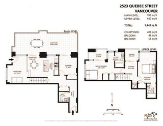 "Photo 20: 2523 QUEBEC Street in Vancouver: Mount Pleasant VE Townhouse for sale in ""OnQue"" (Vancouver East)  : MLS®# R2142687"