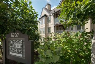 "Photo 1: 314 6707 SOUTHPOINT Drive in Burnaby: South Slope Condo for sale in ""MISSION WOODS"" (Burnaby South)  : MLS®# R2201972"