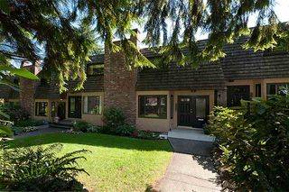 Photo 1: 1178 DEEP COVE Road in North Vancouver: Deep Cove Townhouse for sale : MLS®# R2210688