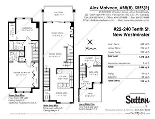 """Photo 26: 22 240 TENTH Street in New Westminster: Uptown NW Townhouse for sale in """"COBBLESTONE WALK"""" : MLS®# R2215044"""