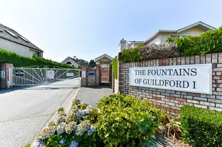 "Main Photo: 15 9163 FLEETWOOD Way in Surrey: Fleetwood Tynehead Townhouse for sale in ""THE FOUNTAINS"" : MLS®# R2298355"