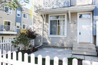 Main Photo: 26 8304 11 Avenue in Edmonton: Zone 53 Townhouse for sale : MLS®# E4128134