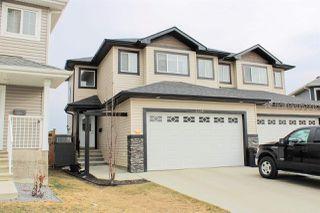 Main Photo: 3110 152 Avenue in Edmonton: Zone 35 House Half Duplex for sale : MLS®# E4150943