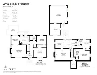 Photo 2: 4039 RUMBLE Street in Burnaby: Suncrest House for sale (Burnaby South)  : MLS®# R2368210
