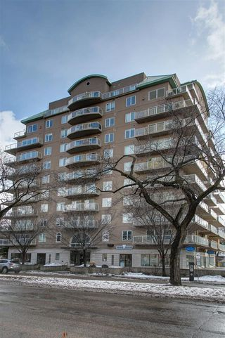Main Photo: 705 11111 82 Avenue in Edmonton: Zone 15 Condo for sale : MLS®# E4159857