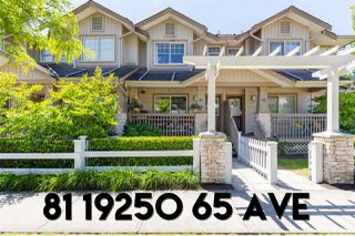 Main Photo: 81 19250 65 Avenue in Surrey: Clayton Townhouse for sale (Cloverdale)  : MLS®# R2380817