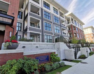 "Main Photo: 130 9500 TOMICKI Avenue in Richmond: West Cambie Condo for sale in ""TRAFALGAR SQUARE"" : MLS®# R2412127"