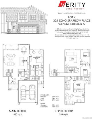Photo 1: 325 Song Sparrow Pl in Colwood: Co Royal Bay Single Family Detached for sale : MLS®# 834786