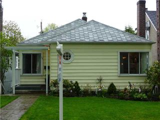 Photo 1: 59 W 21ST Avenue in Vancouver: Cambie House for sale (Vancouver West)  : MLS®# V887220