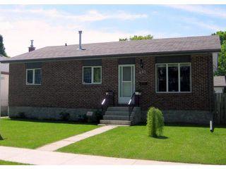 Main Photo: 410 SEVEN OAKS Avenue in WINNIPEG: West Kildonan / Garden City Residential for sale (North West Winnipeg)  : MLS®# 1110961