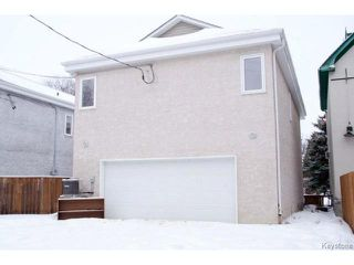 Photo 20: 46 Dundurn Place in WINNIPEG: West End / Wolseley Residential for sale (West Winnipeg)  : MLS®# 1502643