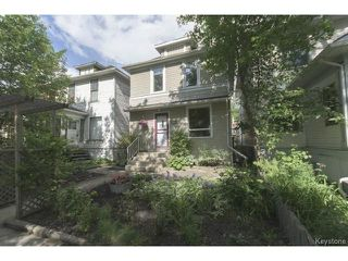 Photo 1: 295 Aubrey Street in WINNIPEG: West End / Wolseley Residential for sale (West Winnipeg)  : MLS®# 1516381