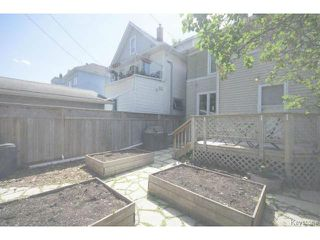Photo 18: 295 Aubrey Street in WINNIPEG: West End / Wolseley Residential for sale (West Winnipeg)  : MLS®# 1516381