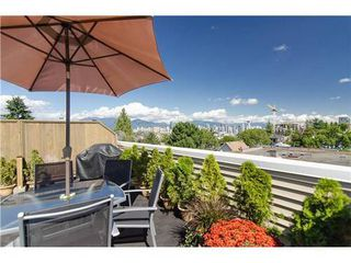 Photo 1: 15 1949 8TH Ave W in Vancouver West: Kitsilano Home for sale ()  : MLS®# V969121