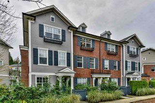 "Photo 1: 66 101 FRASER Street in Port Moody: Port Moody Centre Townhouse for sale in ""CORBEAU"" : MLS®# R2124526"