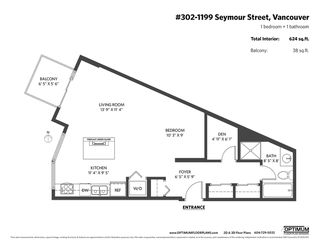 """Photo 20: 302 1199 SEYMOUR Street in Vancouver: Downtown VW Condo for sale in """"BRAVA"""" (Vancouver West)  : MLS®# R2428996"""