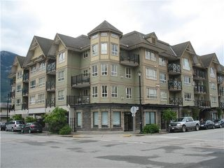 "Photo 1: 106 38003 SECOND Avenue in Squamish: Downtown SQ Condo for sale in ""Squamish Pointe"" : MLS®# R2468244"