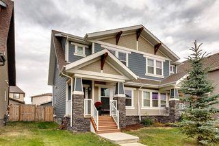 Main Photo: 447 MAHOGANY Boulevard SE in Calgary: Mahogany Semi Detached for sale : MLS®# A1056343
