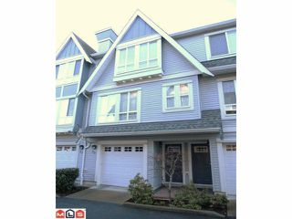 "Photo 1: 70 16388 85TH Avenue in Surrey: Fleetwood Tynehead Townhouse for sale in ""Camelot Village"" : MLS®# F1106811"