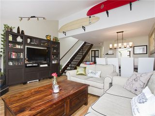 Photo 2: 4 1040 W 7TH Avenue in Vancouver: Fairview VW Townhouse for sale (Vancouver West)  : MLS®# V1047822