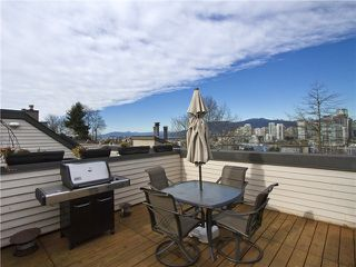 Photo 14: 4 1040 W 7TH Avenue in Vancouver: Fairview VW Townhouse for sale (Vancouver West)  : MLS®# V1047822