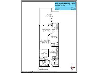 "Photo 16: 202 2636 E HASTINGS Street in Vancouver: Renfrew VE Condo for sale in ""Sugar Suites"" (Vancouver East)  : MLS®# V1119278"