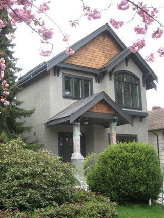 Main Photo: 3958 West 21st Avenue in Vancouver: Dunbar Home for sale ()  : MLS®# v763708