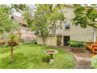Photo 18: 22 Cambridge Street in VICTORIA: Vi Fairfield West Residential for sale (Victoria)  : MLS®# 378290