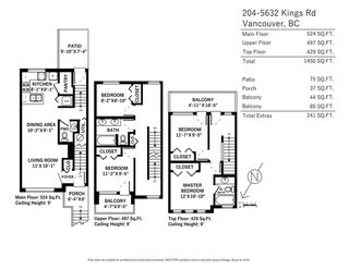 "Photo 20: 204 5632 KINGS Road in Vancouver: University VW Townhouse for sale in ""GALLERIA"" (Vancouver West)  : MLS®# R2255313"