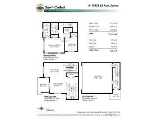 """Photo 17: 14 19433 68 Avenue in Surrey: Clayton Townhouse for sale in """"The Grove"""" (Cloverdale)  : MLS®# R2310505"""