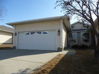 Photo 1: 58 14428 MILLER Boulevard NW in Edmonton: Zone 02 House Half Duplex for sale : MLS®# E4140792