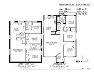 Photo 11: 3469 ADANAC Street in Vancouver: Renfrew VE House for sale (Vancouver East)  : MLS®# R2357150