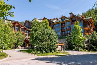 """Main Photo: 218 2202 GONDOLA Way in Whistler: Whistler Creek Condo for sale in """"First Tracks Lodge"""" : MLS®# R2364871"""