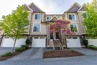 """Photo 1: 18 46832 HUDSON Road in Sardis: Promontory Townhouse for sale in """"CONERSTONE HAVEN"""" : MLS®# R2366994"""