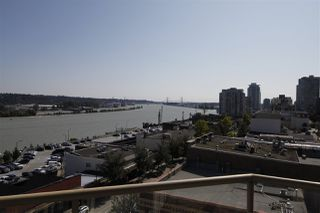"Photo 1: 502 328 CLARKSON Street in New Westminster: Downtown NW Condo for sale in ""HIGHBOURNE TOWER"" : MLS®# R2395845"