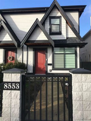 Main Photo: 8553 MONTCALM Street in Vancouver: Marpole House 1/2 Duplex for sale (Vancouver West)  : MLS®# R2431106