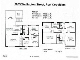 Photo 19: 3865 WELLINGTON Street in Port Coquitlam: Oxford Heights House for sale : MLS®# V1094588