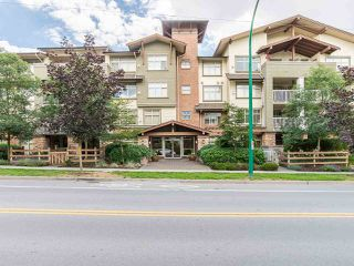 """Photo 1: 203 6500 194 Street in Surrey: Clayton Condo for sale in """"SUNSET GROVE"""" (Cloverdale)  : MLS®# R2190673"""
