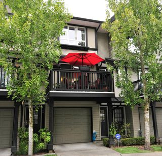 Photo 1: 160 6747 203rd Street in Langley: Willoughby Heights Townhouse for sale : MLS®# R2202597