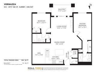 "Photo 2: 314 8717 160 Street in Surrey: Fleetwood Tynehead Condo for sale in ""Vernazza"" : MLS®# R2259868"